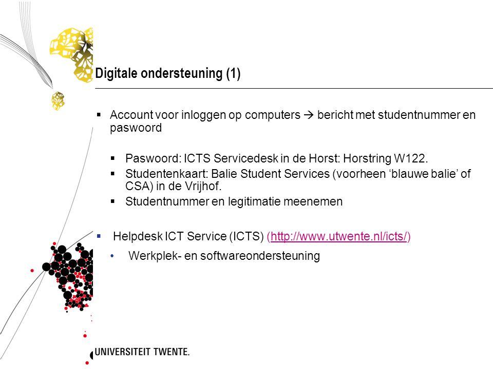 Digitale ondersteuning (1)