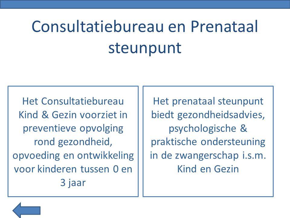 Consultatiebureau en Prenataal steunpunt