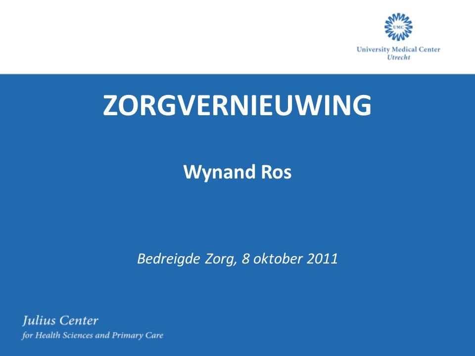 Bedreigde Zorg, 8 oktober 2011