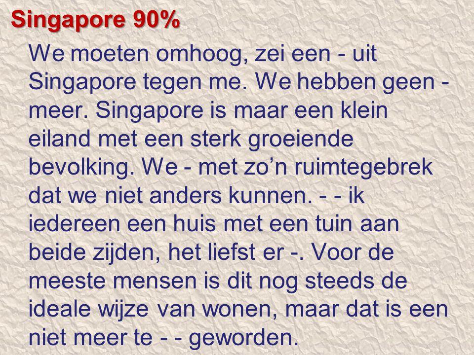 Singapore 90%