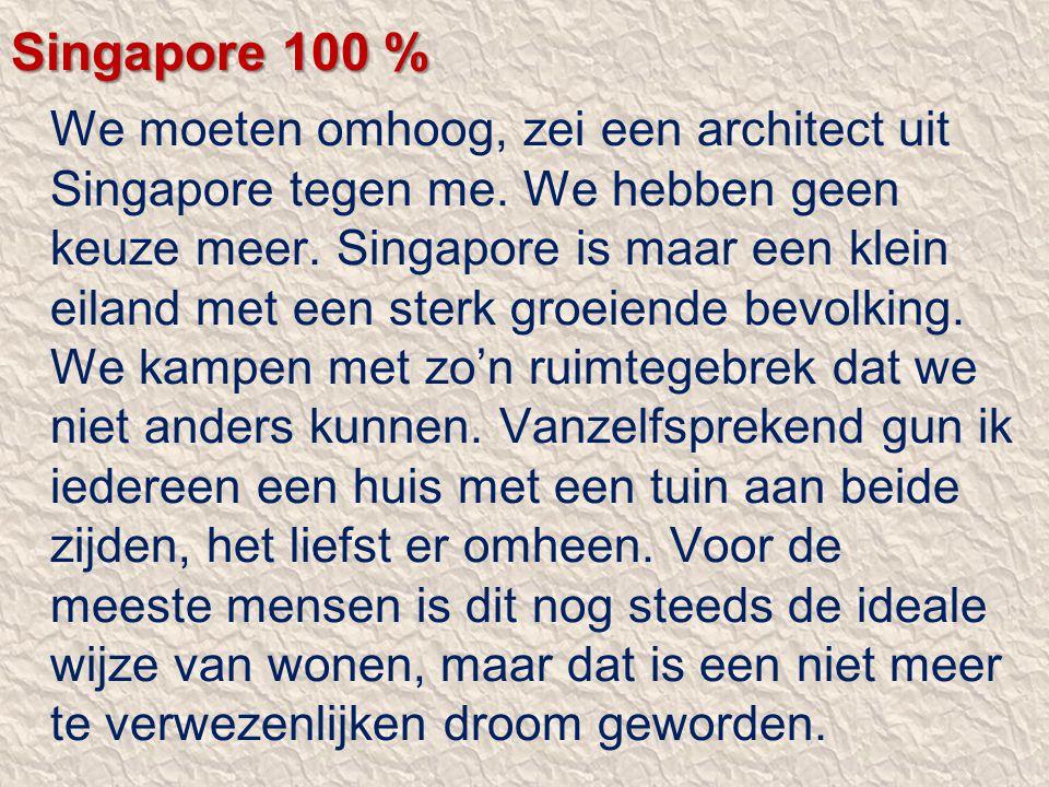 Singapore 100 %