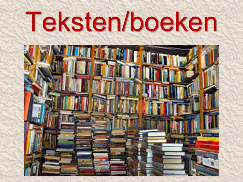 Teksten/boeken