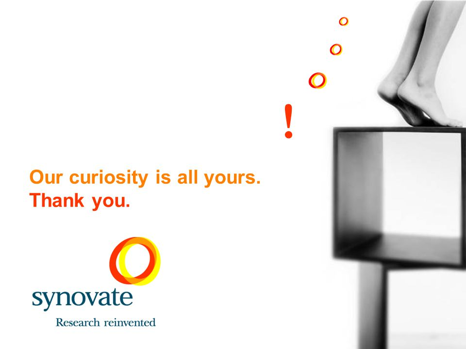 Our curiosity is all yours. Thank you.