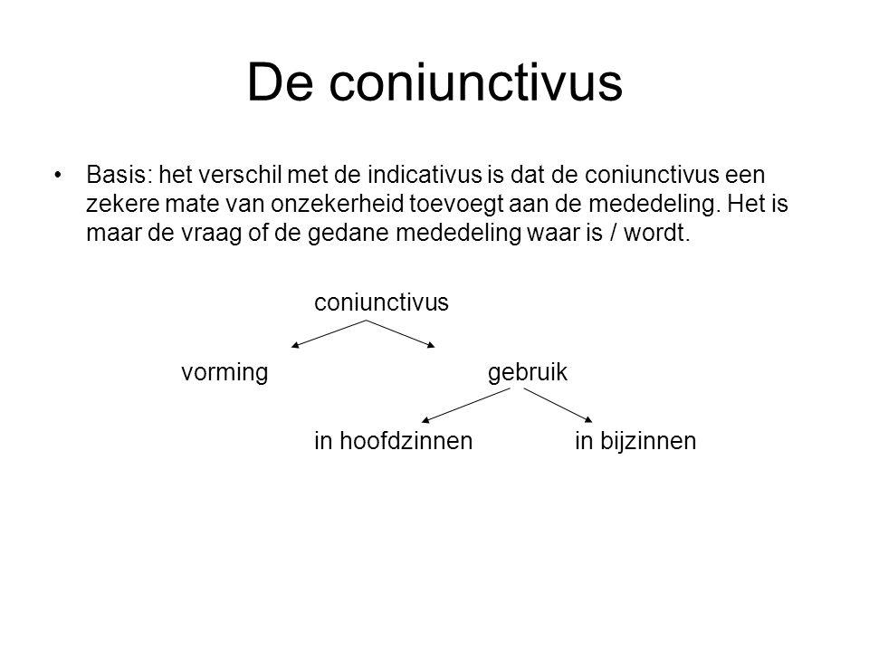 De coniunctivus