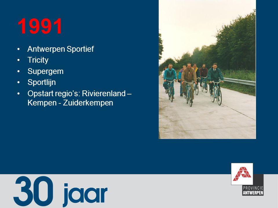 1991 Antwerpen Sportief Tricity Supergem Sportlijn