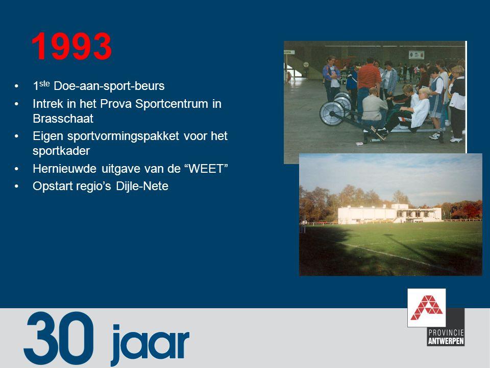 1993 1ste Doe-aan-sport-beurs