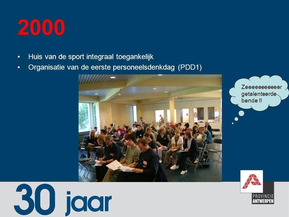 2000 Huis van de sport integraal toegankelijk