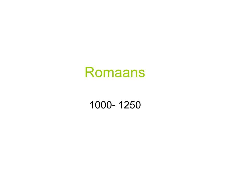 Romaans 1000- 1250