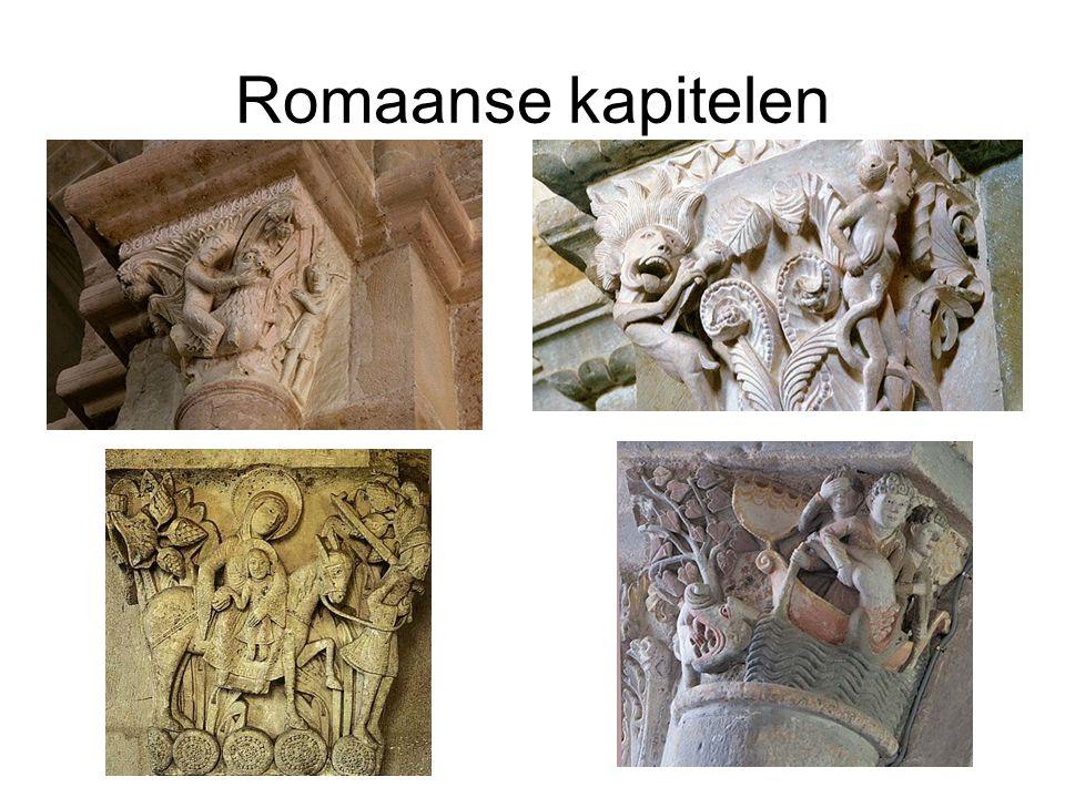 Romaanse kapitelen