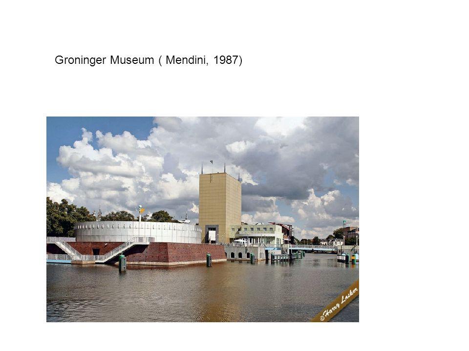 Groninger Museum ( Mendini, 1987)