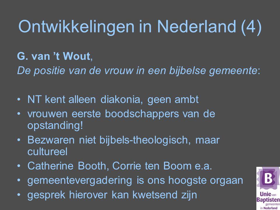 Ontwikkelingen in Nederland (4)
