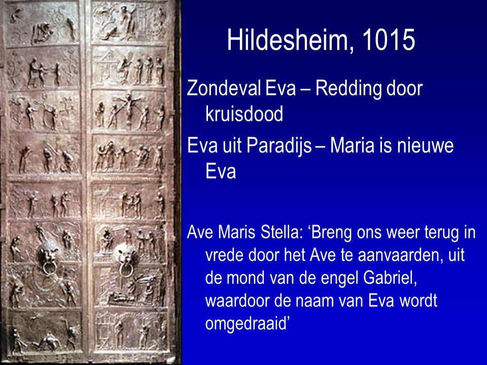 Hildesheim, 1015 Zondeval Eva – Redding door kruisdood