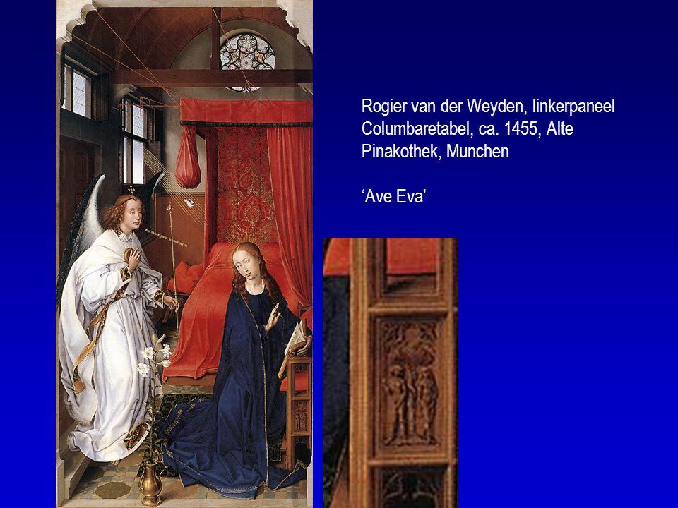 Rogier van der Weyden, linkerpaneel Columbaretabel, ca