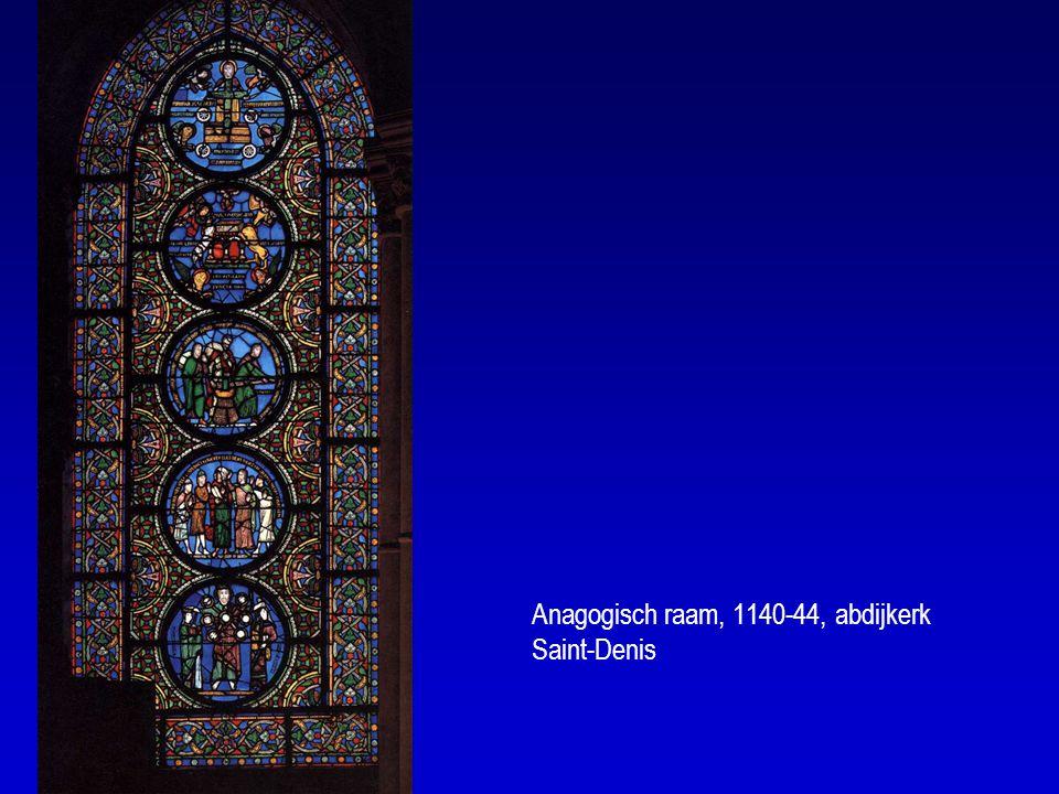 Anagogisch raam, 1140-44, abdijkerk Saint-Denis