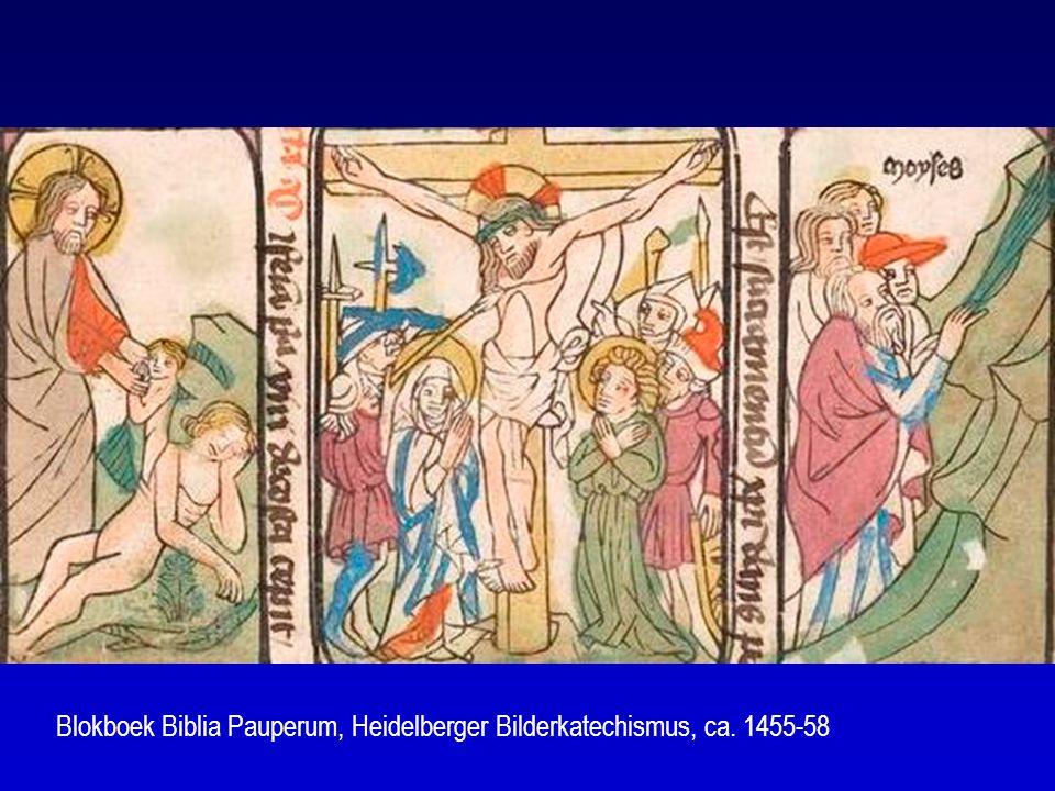Blokboek Biblia Pauperum, Heidelberger Bilderkatechismus, ca. 1455-58