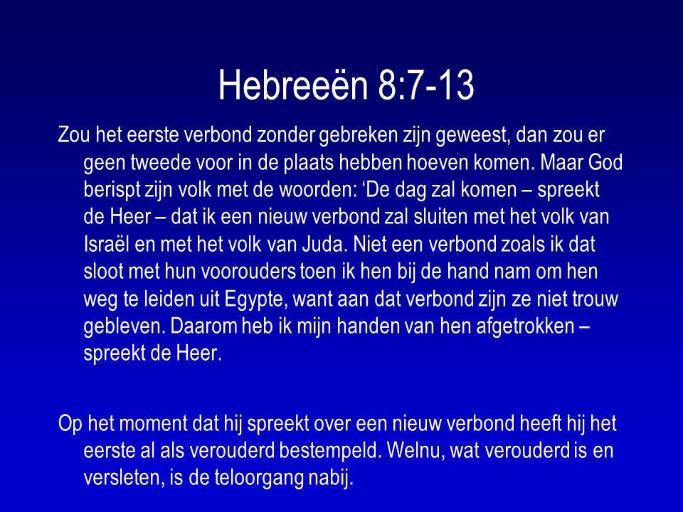 Hebreeën 8:7-13
