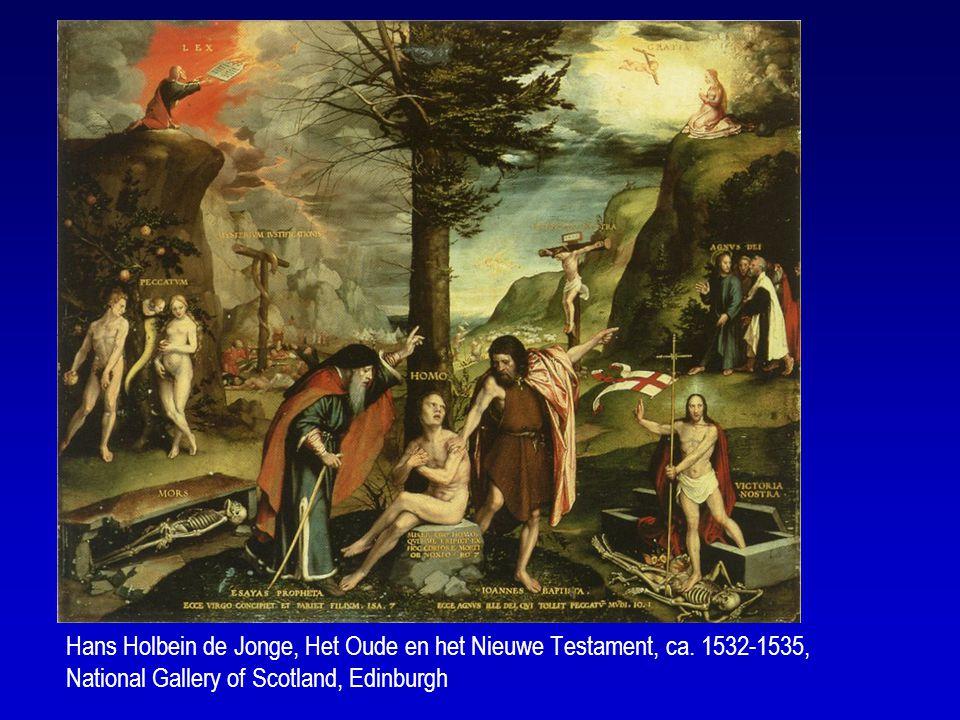 Hans Holbein de Jonge vat de Bijbel samen in één schilderij