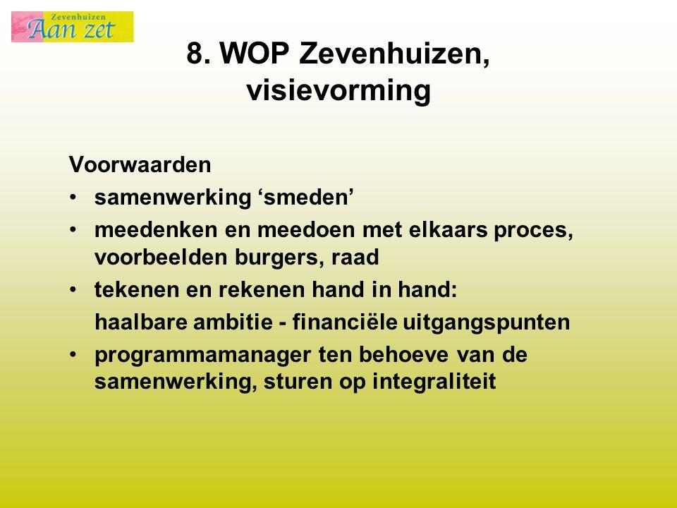 8. WOP Zevenhuizen, visievorming
