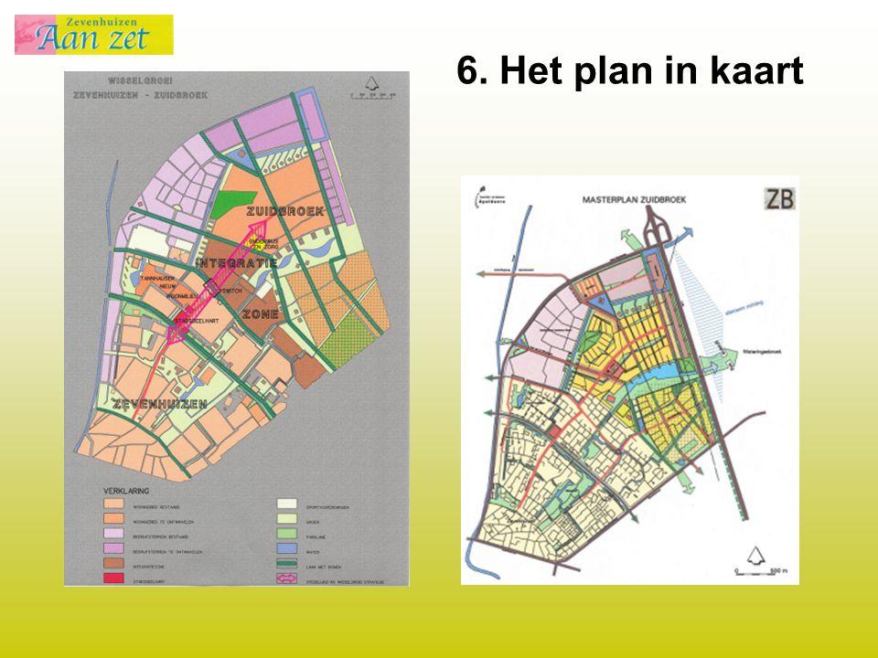 6. Het plan in kaart