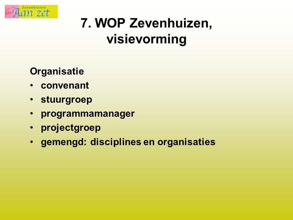 7. WOP Zevenhuizen, visievorming