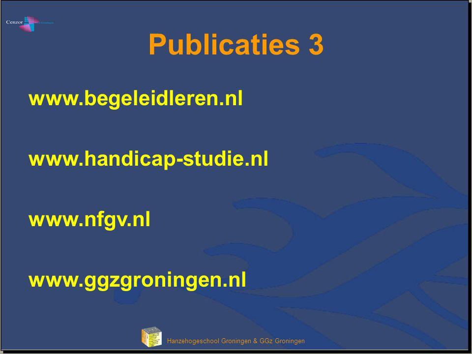 Hanzehogeschool Groningen & GGz Groningen