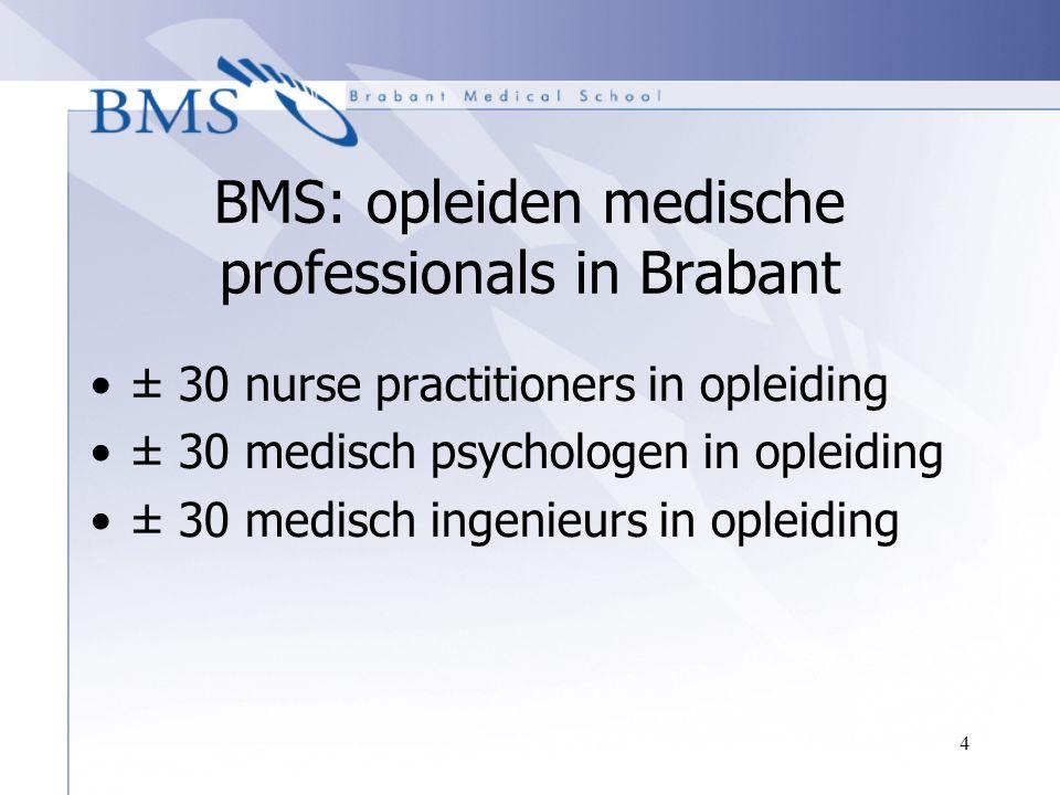 BMS: opleiden medische professionals in Brabant