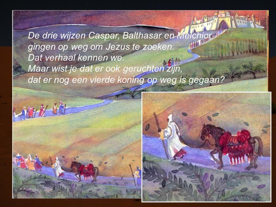 De drie wijzen Caspar, Balthasar en Melchior