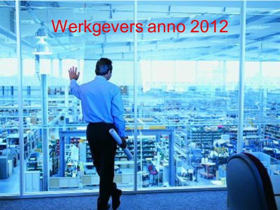 Werkgevers anno 2012