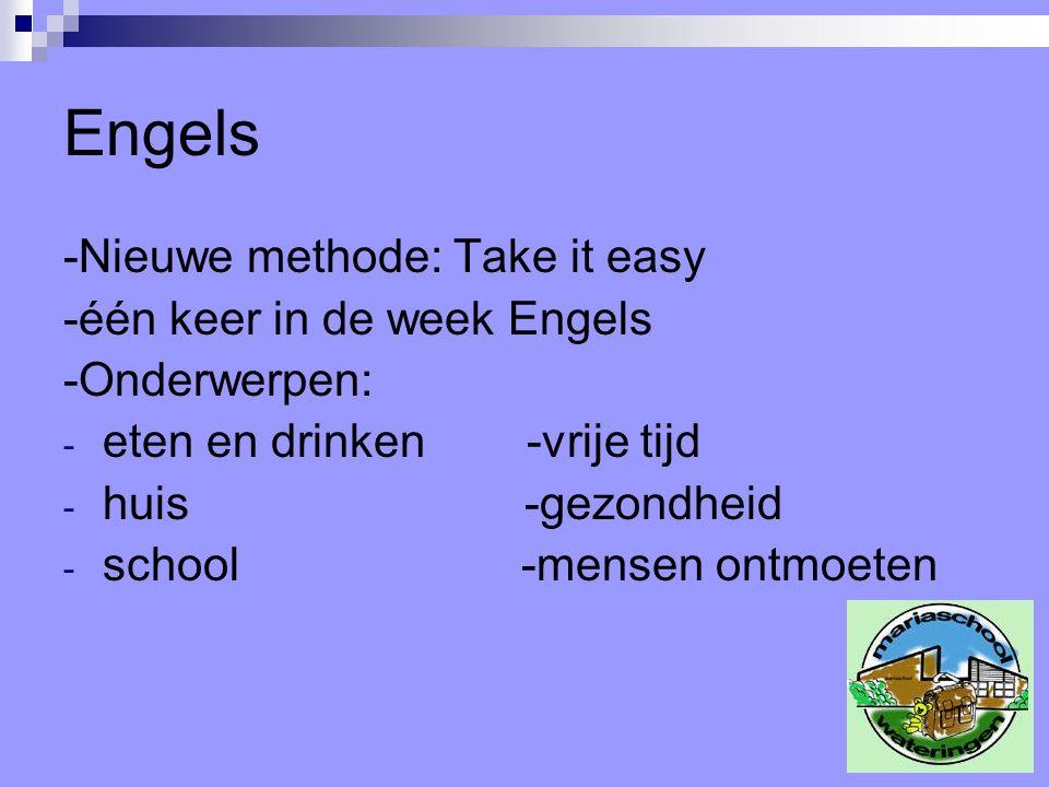 Engels -Nieuwe methode: Take it easy -één keer in de week Engels