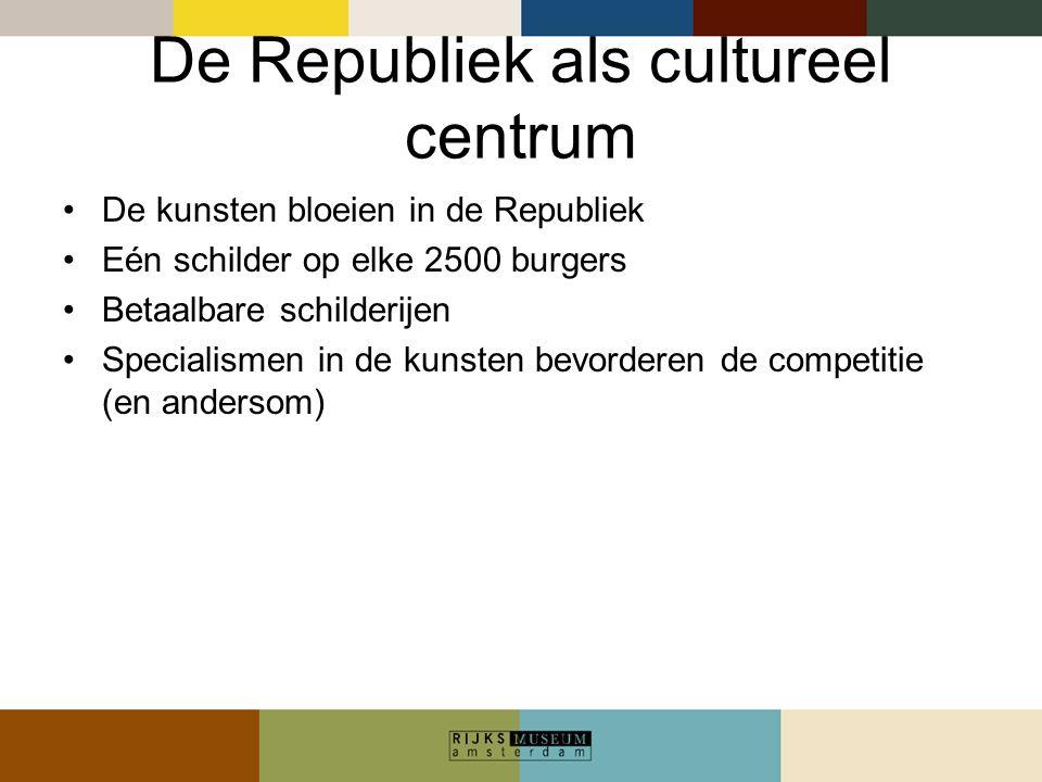 De Republiek als cultureel centrum
