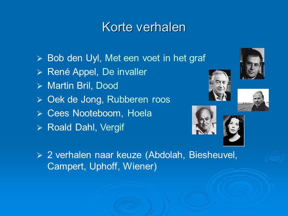 Korte verhalen Bob den Uyl, Met een voet in het graf