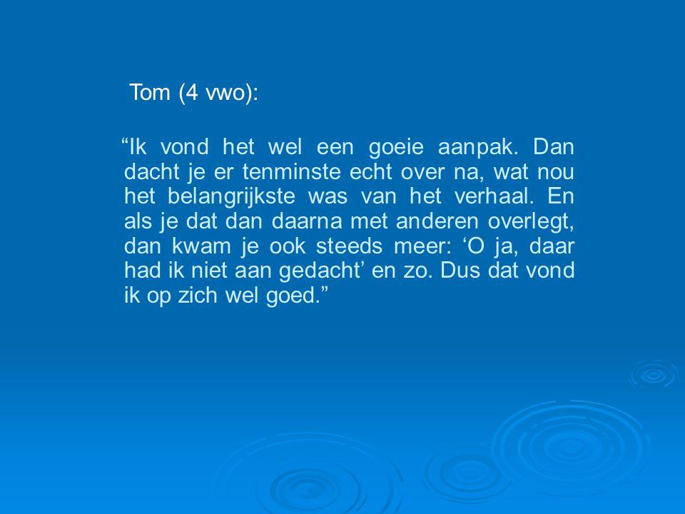 Tom (4 vwo):