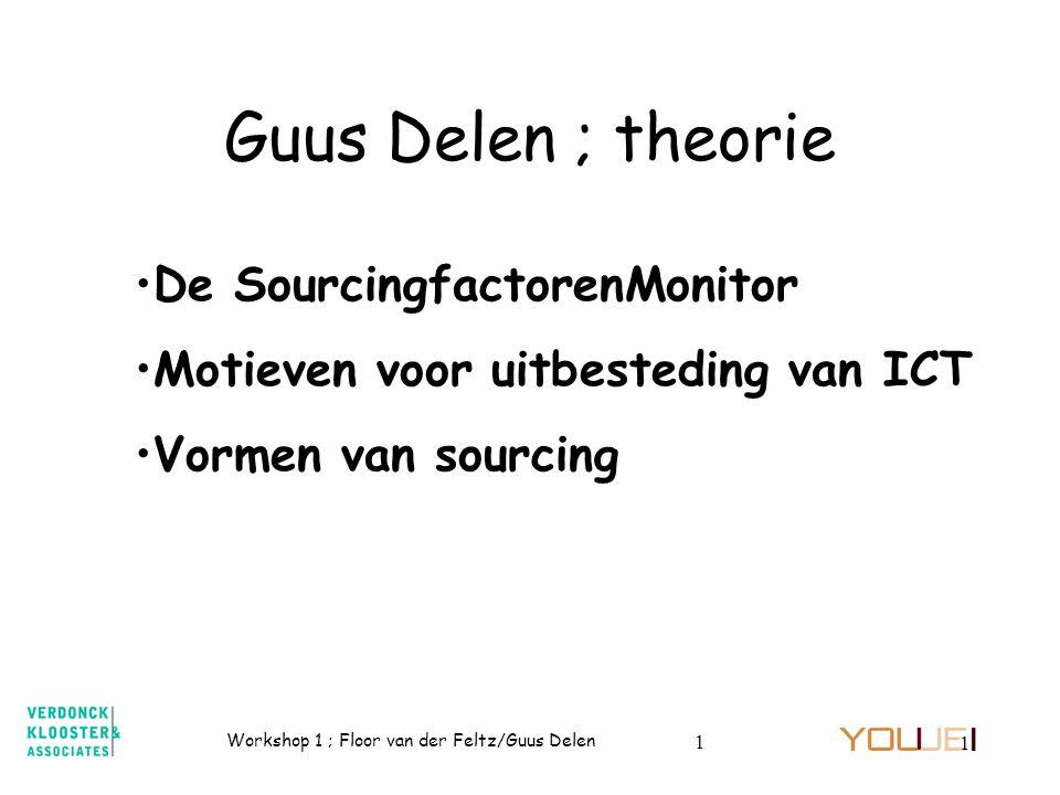 Guus Delen ; theorie De SourcingfactorenMonitor