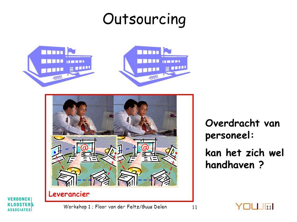 Outsourcing Overdracht van personeel: kan het zich wel handhaven
