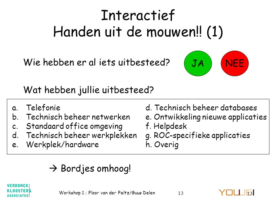 Interactief Handen uit de mouwen!! (1)