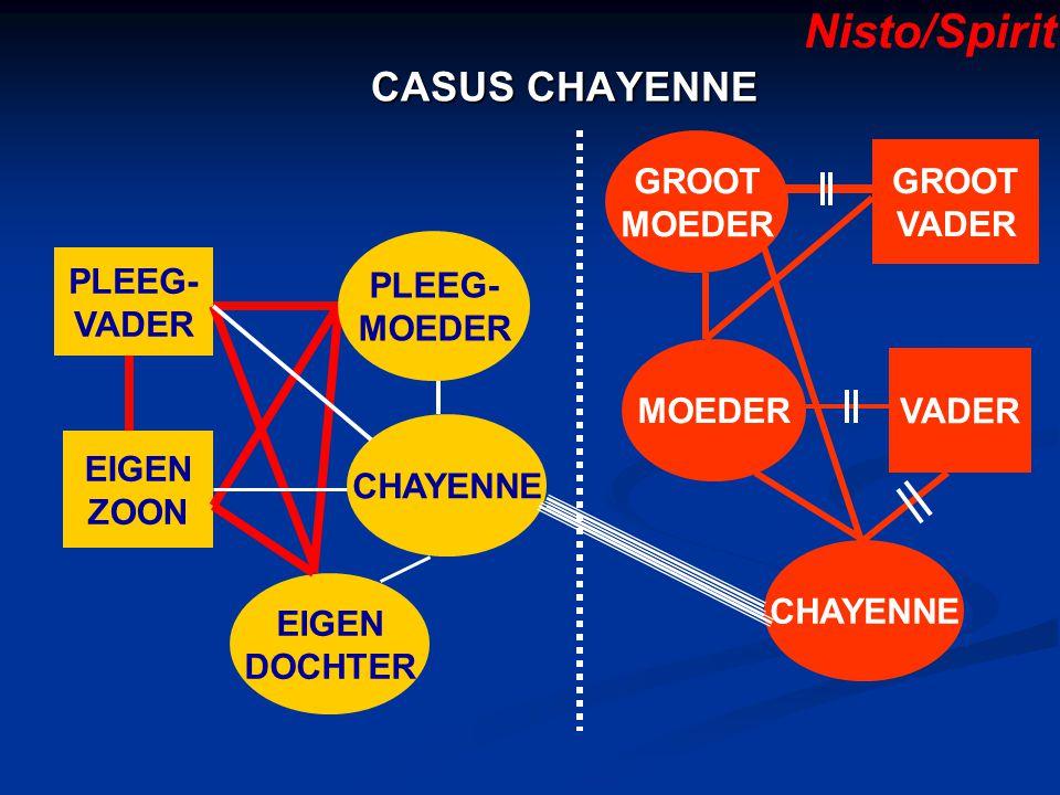 Nisto/Spirit CASUS CHAYENNE GROOT GROOT MOEDER VADER PLEEG- PLEEG-