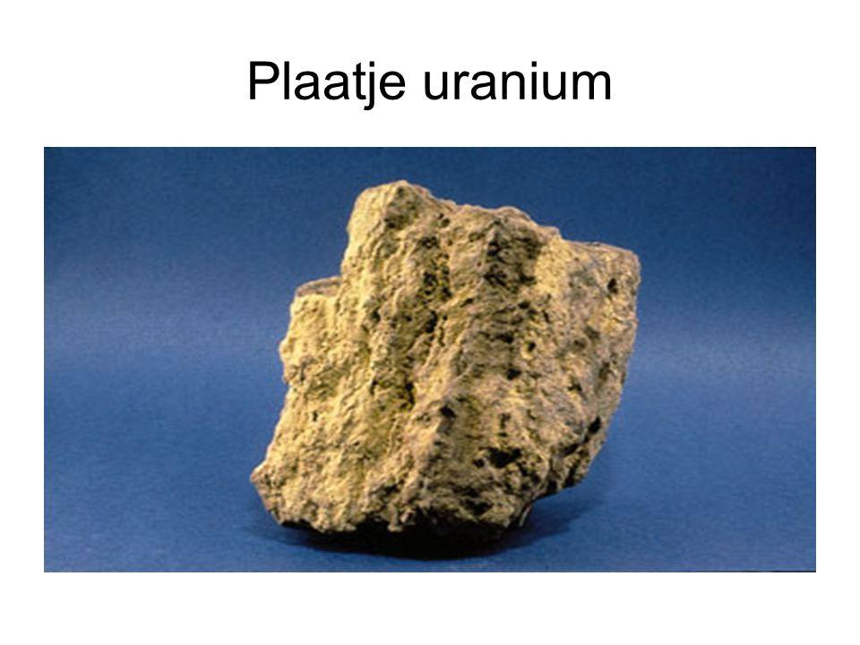 Plaatje uranium