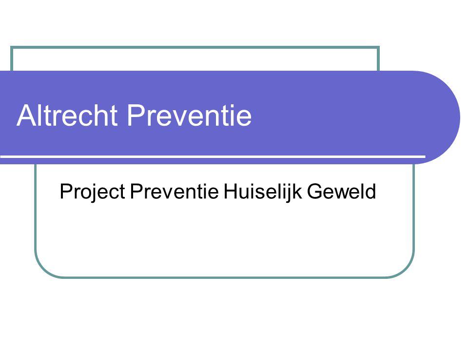 Project Preventie Huiselijk Geweld