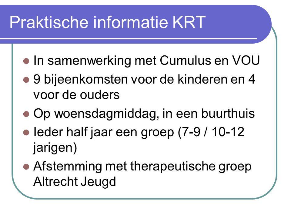 Praktische informatie KRT