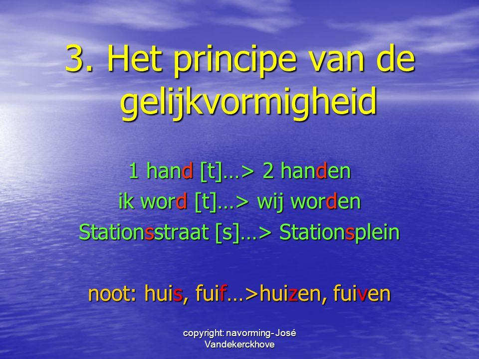 3. Het principe van de gelijkvormigheid