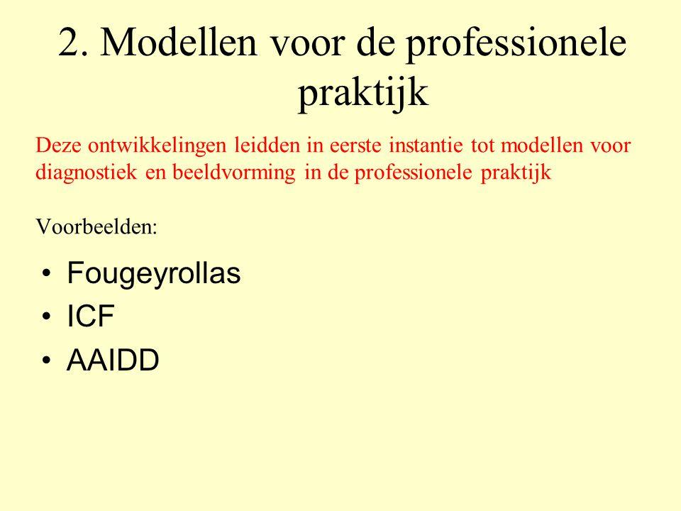 2. Modellen voor de professionele