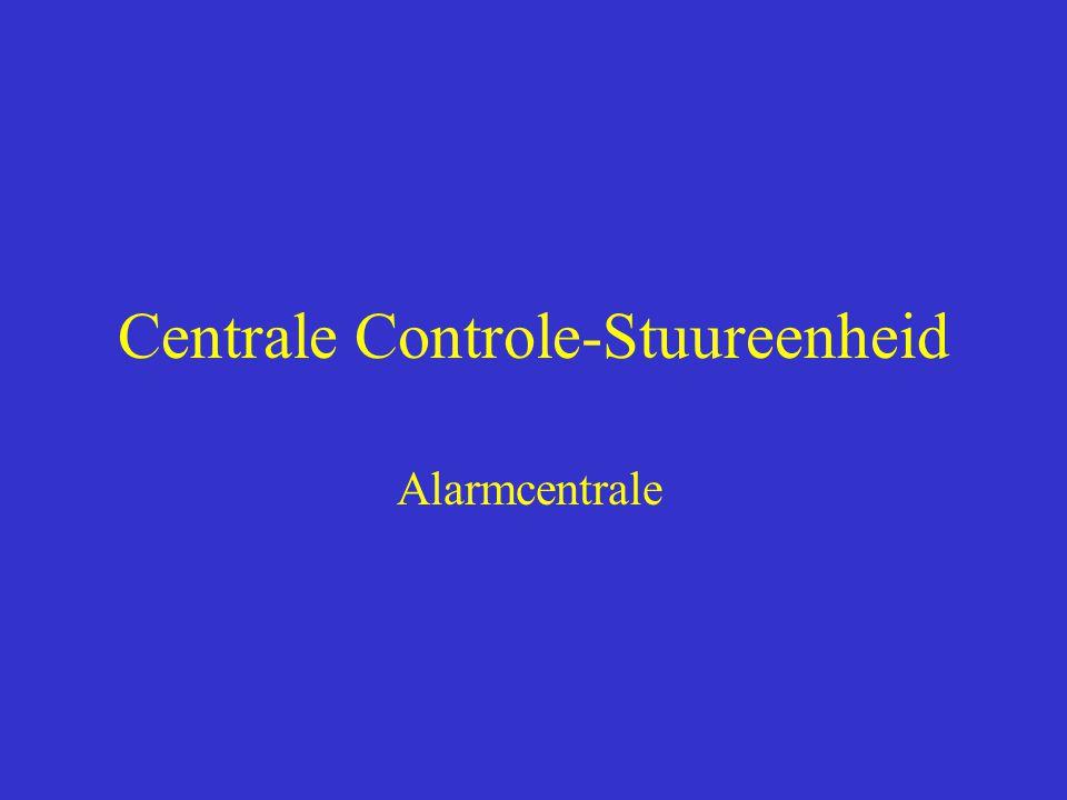 Centrale Controle-Stuureenheid