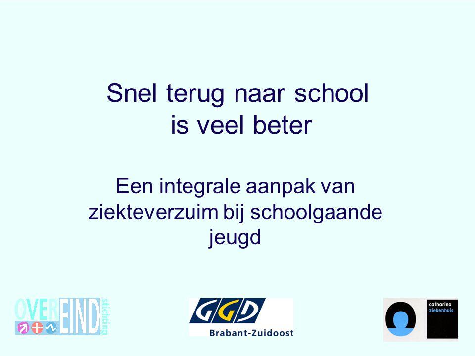 Snel terug naar school is veel beter