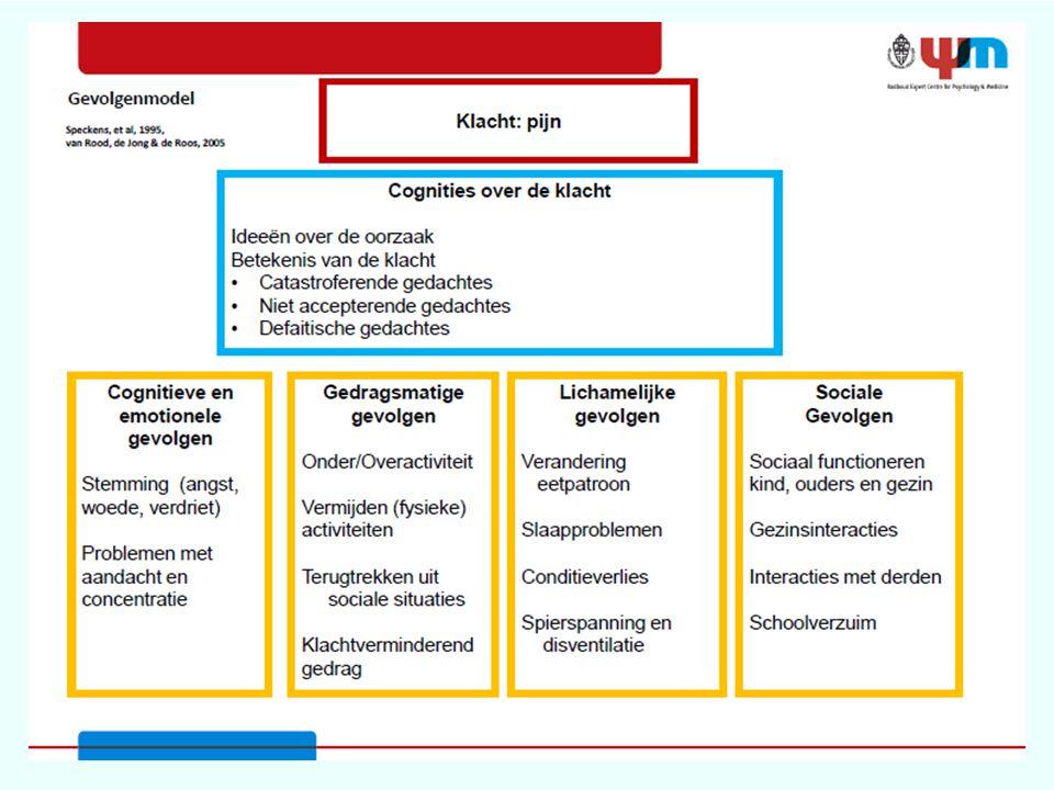 An. Gevolgenmodel pijn van: van Rood, de Jong& de Roos 2005 ( geleend van psychologie Radboud ZH )