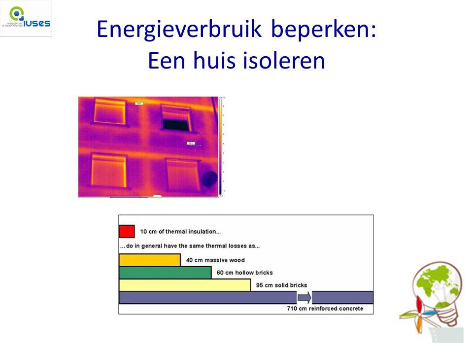 Energieverbruik beperken: Een huis isoleren