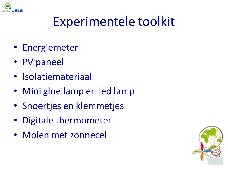 Experimentele toolkit