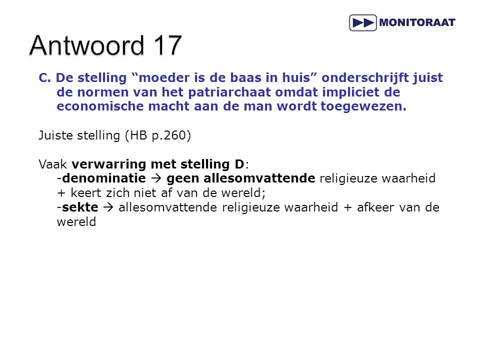 Antwoord 17