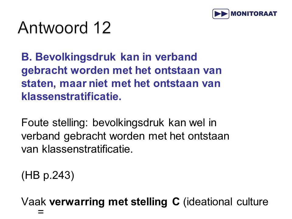 Antwoord 12