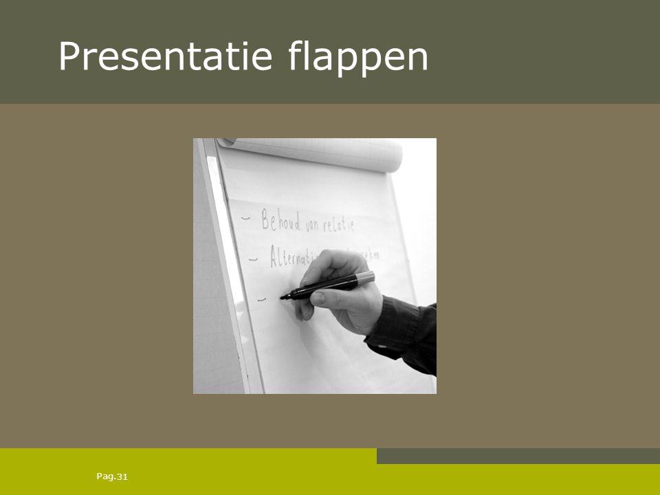 Presentatie flappen