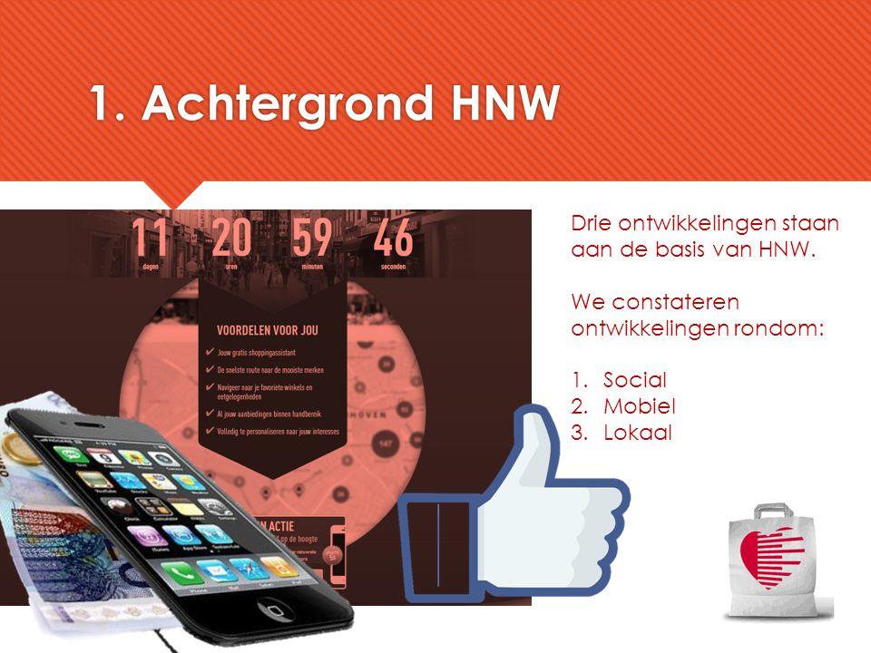 1. Achtergrond HNW Drie ontwikkelingen staan aan de basis van HNW.